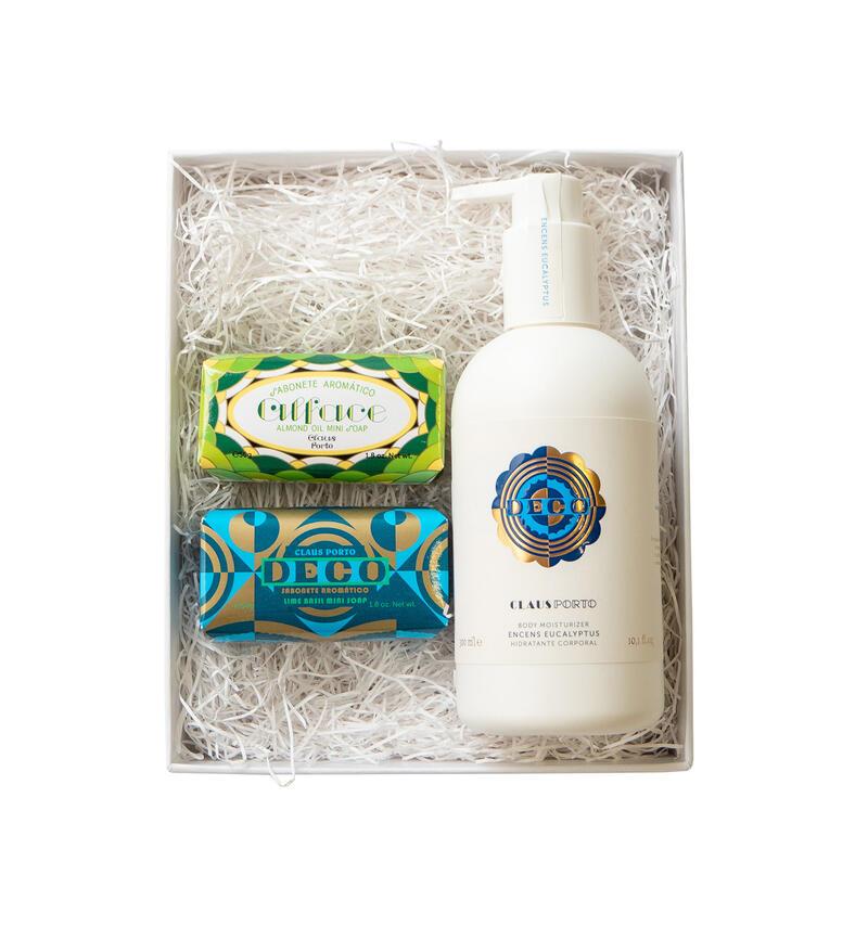 ONLINE限定GIFT SET【BLUE】- 2 MINI SOAPS & LIQUID SOAP