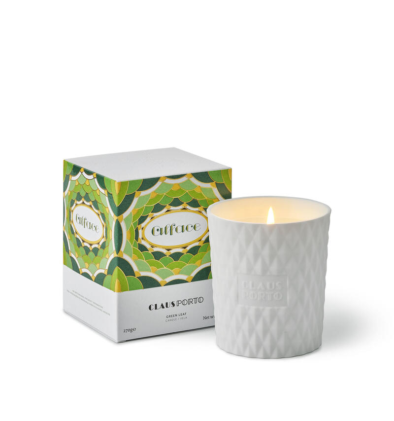 ALFACE GREEN LEAF – CANDLE
