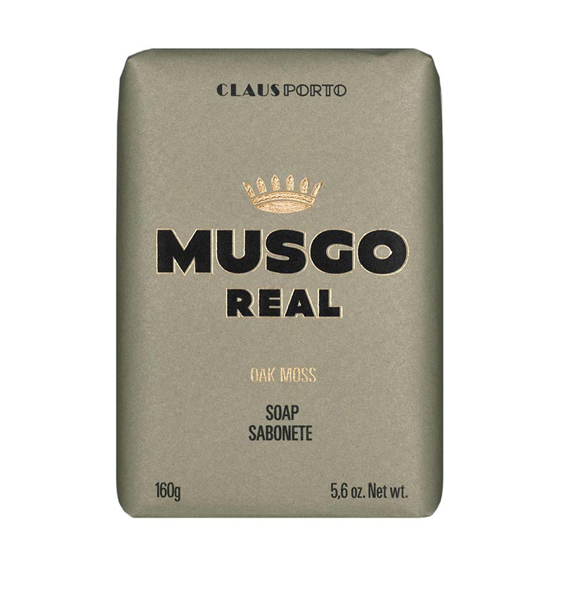 MEN'S BODY SOAP - OAK MOSS