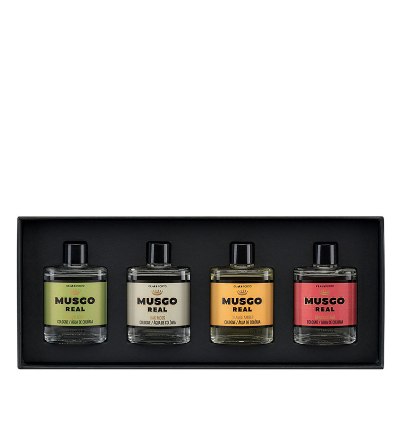 GIFT BOX OF MINI COLOGNES